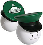 Army Officer Mad Cap Stress Balls